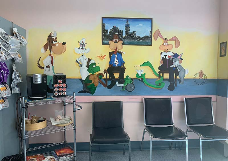 Hoboken Animal Hospital - Waiting Room